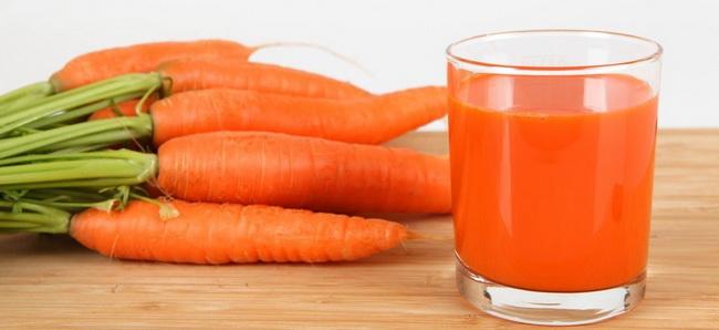 лечение морковью и морковным соком