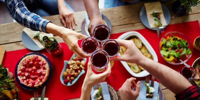питание в праздники